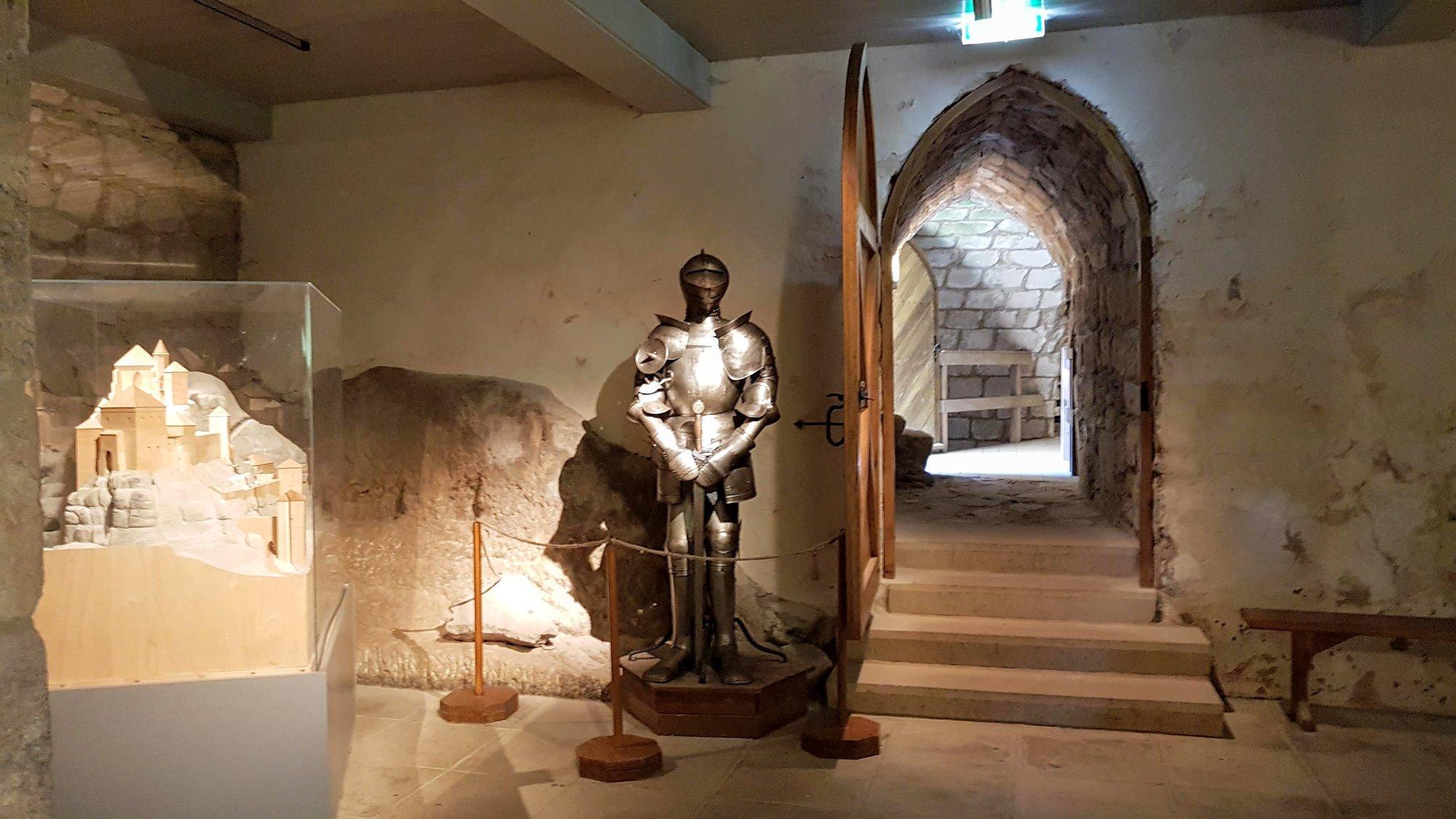 exhibition inside the castle