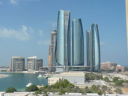 Abu Dhabi Etihad Towers