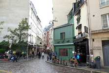 malebné parížske uličky
