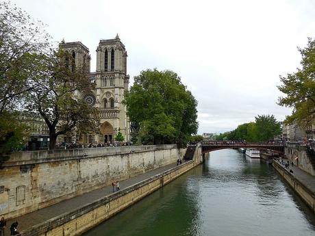 Katedrála Notre Dame (most Pont au Double)