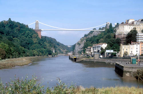 Bristol - Clifton bridge